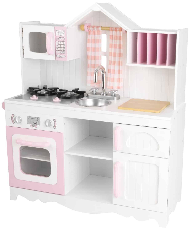 Kid Kraft - moderne Bauernküche Spielküche aus Holz für Kinder