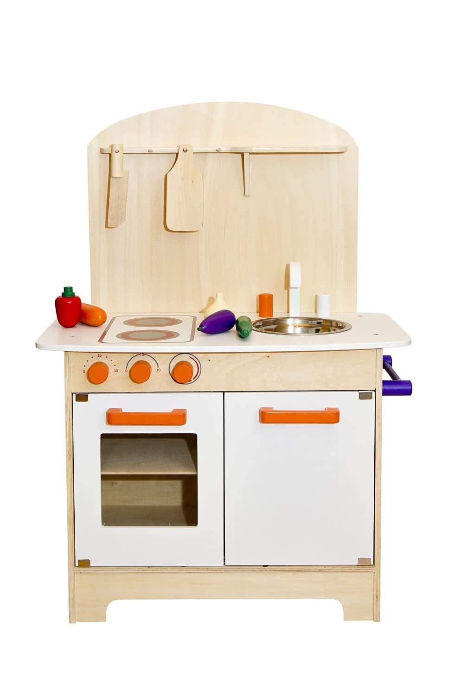 Glow2B Spielwaren Kinderküche aus Holz