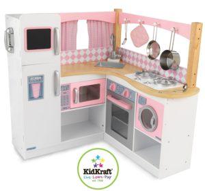 KidKraft - Eck-Spielküche Grand Gourmet aus Holz