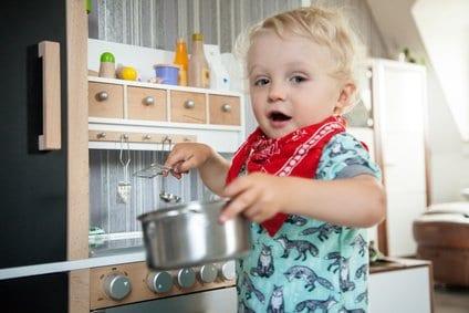 Kochen mit der Kinderküche